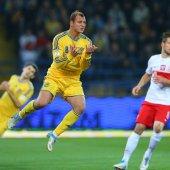 \»Украина\» 1:0 \»Польша\» — 11 октября 2013г. — Фото
