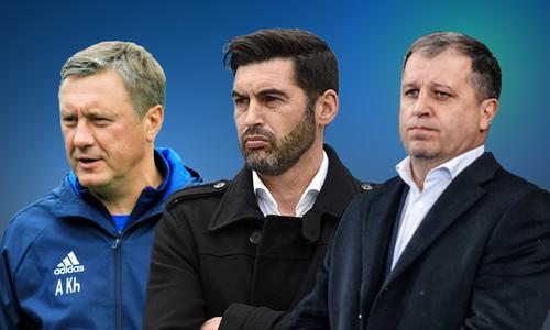 Опроc. Выбираем лучшего тренера украинской Премьер-лиги