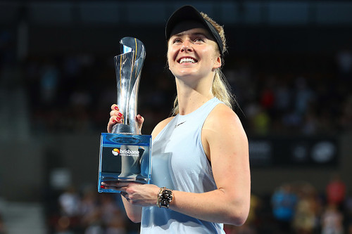 Элина Свитолина выиграла турнир в Брисбене