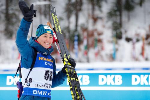 Рождественский сюрприз. Вита Семеренко стала третьей в персьюте!