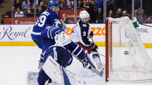 НХЛ. Торонто устпил Коламбусу в овертайме. Матч понедельника