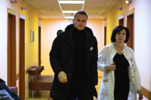 В клинике довольны состоянием игроков Динамо на медосмотре