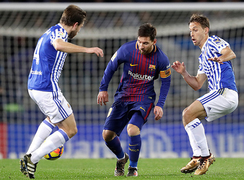 Реал Сосьедад - Барселона - 2:4. Обзор матча