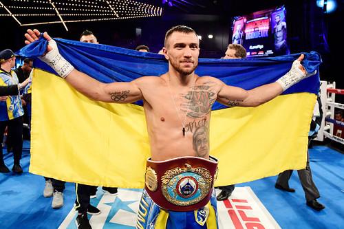 Василий Ломаченко – спортсмен 2017 года в Украине!