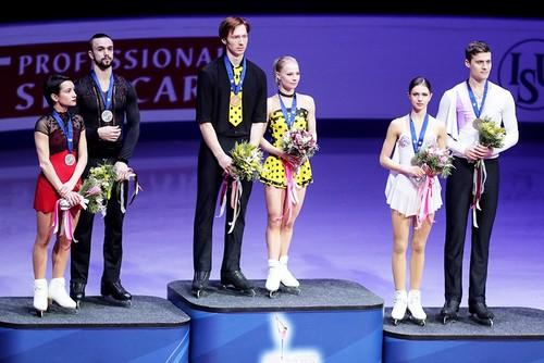 Россияне заняли весь пьедестал на соревнованиях пар