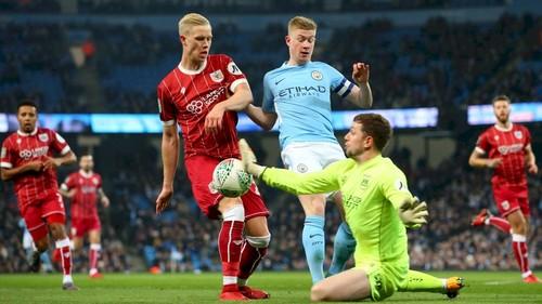 Манчестер Сити вышел в финал Кубка лиги
