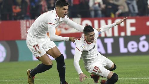 Севилья обыграла Атлетико и вышла в полуфинал Кубка Испании