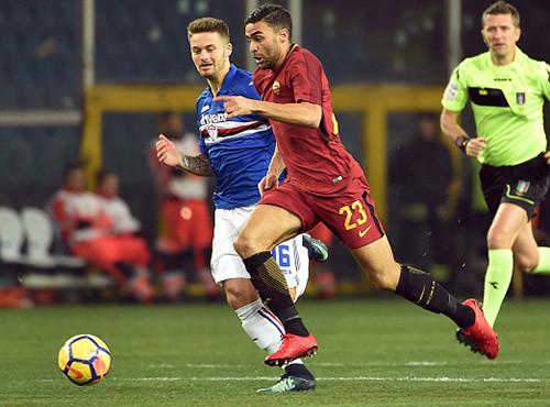 Сампдория - Рома - 1:1. Обзор матча