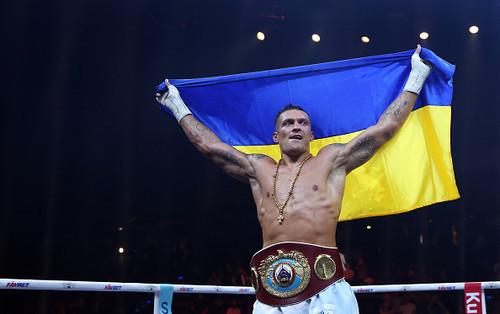 Усик обратился к украинцам перед боем против Бриедиса