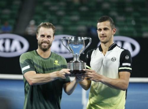 Марак и Павич выиграли парный мужской турнир Australian Open