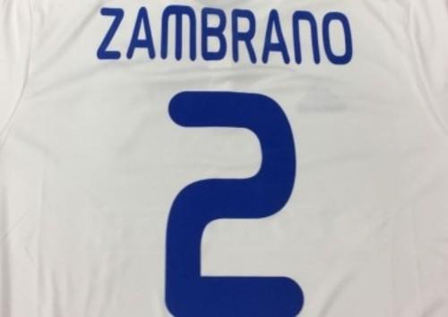 Самбрано выбрал в Динамо 2-й номер