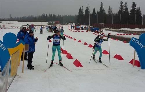 ЮЧЕ-2018. Анна Кривонос финишировала 13 в спринтерской гонке