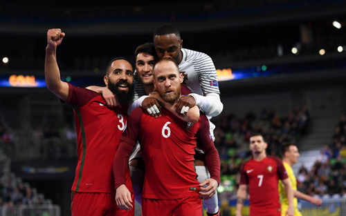 Украина — Португалия — 3:5. Видеообзор матча