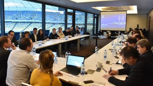 Інспекція УЄФА перевірила готовність Києва до фіналів Ліги чемпіонів