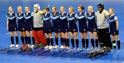ЧМ-2018 по индорхоккею. Женская сборная Украины уступила Германии