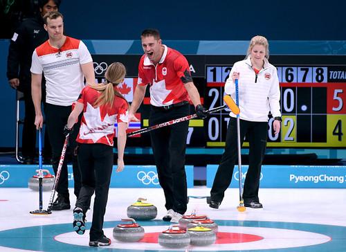 Пхенчхан-2018. Канада вышла в финал микста в керлинге