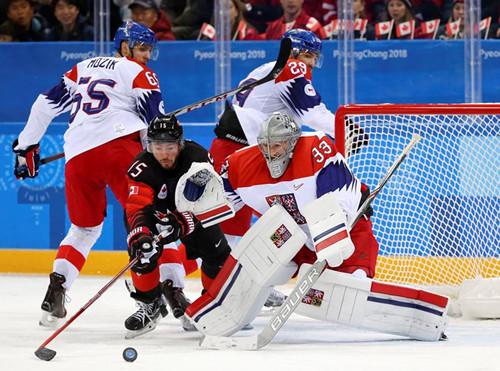 Пхенчхан-2018. Чехия в серии буллитов переиграла Канаду