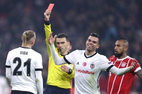 Вида заработал удаление в матче с Баварией
