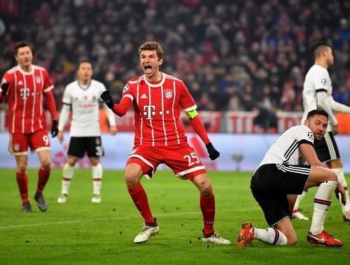 Бавария — Бешикташ — 5:0. Обзор матча. 20.02.2018