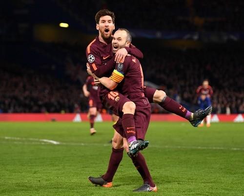 Месси впервые забил в ворота Челси