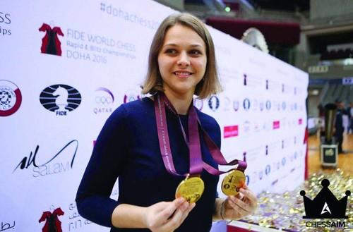 ФОТО ДНЯ: Анна Музычук обменялась футболками с Криштиану Роналду