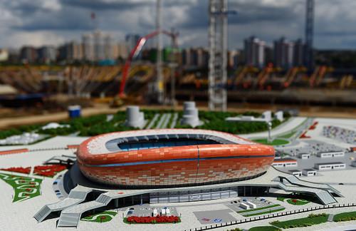 ФОТО ДНЯ. Стадион в Саранске готов к преведению ЧМ-2018 по футболу
