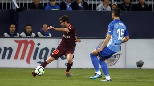 Малага — Барселона — 0:2. Видеообзор матча