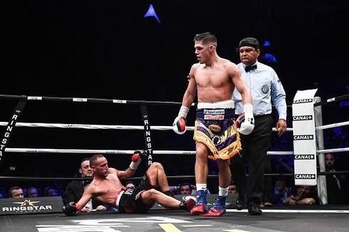 Кастаньо защитил титул, нокаутировав Виту