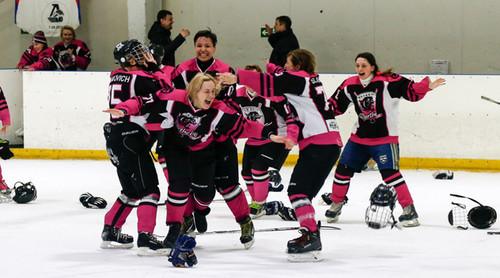 Харьківські Пантери стали чемпіонками України з хокею серед жінок