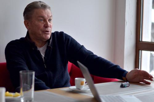 Олег БЛОХИН: «Думаю, Лобановскому не было сложно со мной»