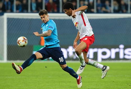 Зенит сыграл вничью с Лейпцигом и вылетел из Лиги Европы