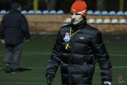 ВИДЕО ДНЯ. Первая тренировка Алиева в качестве тренера Подолья