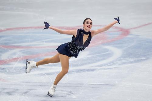 Канадка Осмонд выиграла чемпионат мира в одиночном катании