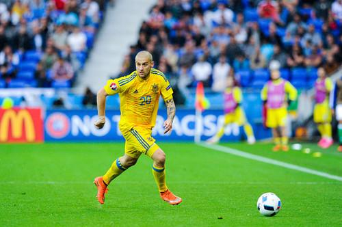Ракицкий забил пятый гол за сборную Украины
