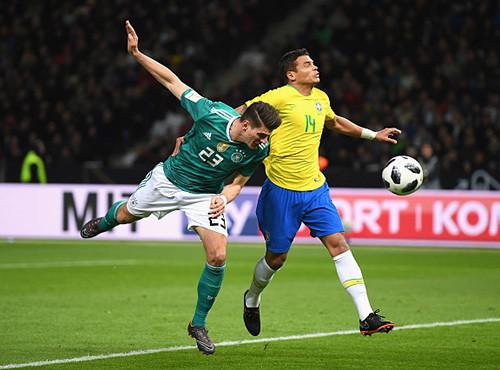 Бразилия на Олимпиаштадионе с минимальным счетом одолела Германию