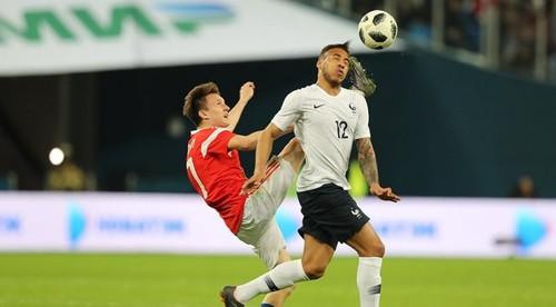 Россия — Франция — 1:3. Видеообзор матча