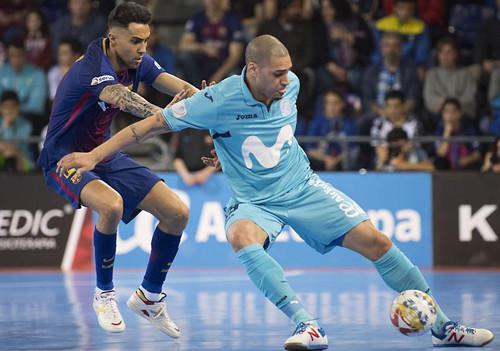 Виват стандарты: Барселона Ласса и Мовистар Интер сыграли вничью