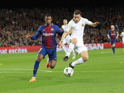 Барселона — Рома — 4:1. Видеообзор матча