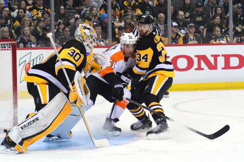 НХЛ. Питтсбург в первом раунде плей-офф сыграет с Филадельфией