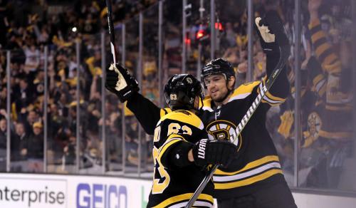 НХЛ. 7 шайб Бостона, вторые победы Сан-Хосе, Нэшвилла и Тампы
