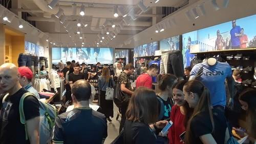 Khomytskyi Pro открыли магазин спортэкипировки Under Armour в Киеве