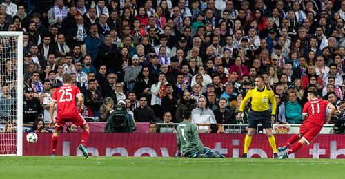 Хамес Родригес не стал праздновать гол в ворота Реала