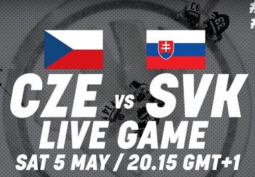 ЧМ-2018. Чехия — Словакия. Смотреть онлайн. LIVE трансляция
