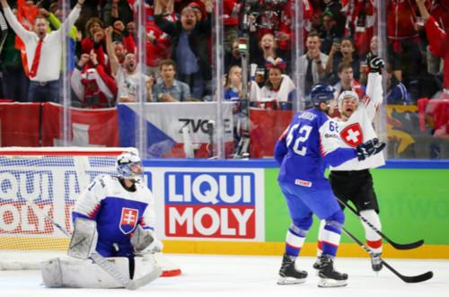 Чемпионат мира по хоккею. Словакия всухую проиграла швейцарцам