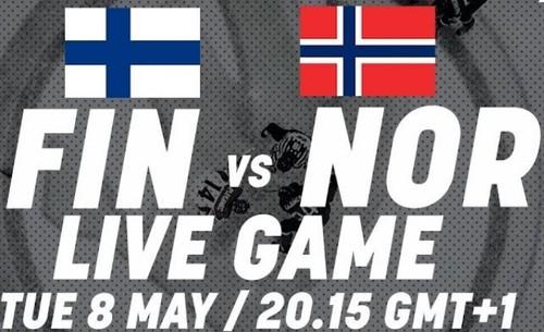 Где смотреть онлайн матч чемпионата мира. Финляндия – Норвегия