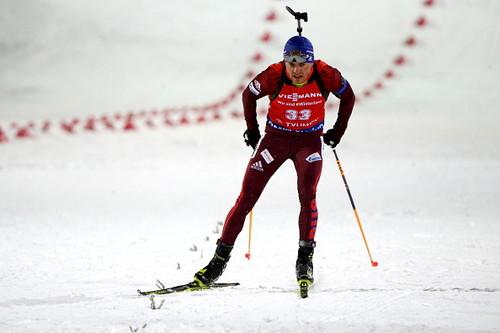 Биатлонист Бабиков занял 3-е место в благотворительном забеге в Вене