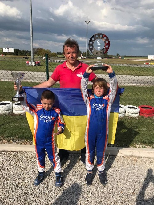 Олександр Бондарев 2-й на етапі Rotax в Португалії