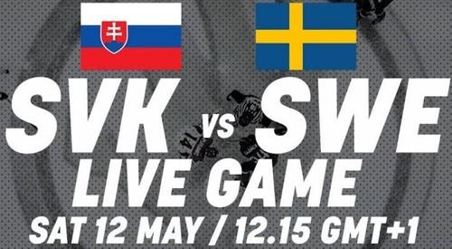 ЧМ-2018. Словакия – Швеция. Смотреть онлайн. LIVE трансляция