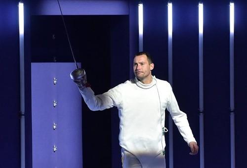 Украинец Никишин завоевал серебро в Париже