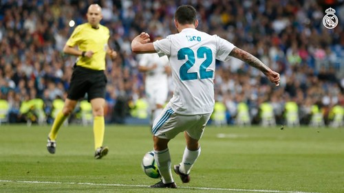 Реал Мадрид — Сельта. Видео гола Иско